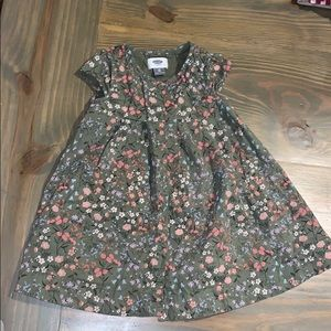 Old Navy Toddler Floral Button Up Dress